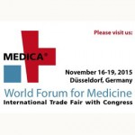 Presentation at MEDICA in Düsseldorf, Germany