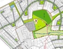 Gestaltung öffentlicher Grünflächen Neubaugebiet Schleeberg, Ennigerloh