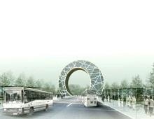 Freiraumplanung Autostadt Changchun, V.R. China