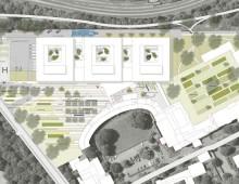 1. Preis Wettbewerb Neubau Katholisches Klinikum, Duisburg
