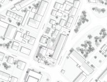 """Wettbewerb, 4. Platz, """"Haus der Kirche"""", Freising"""