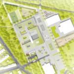 Anerkennung Freiraumplanerischer Realisierungswettbewerb, Gustav-Heinemann-Gesamtschule, Essen
