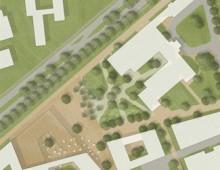 Städtebaulicher Wettbewerb Universitätsklinikum Münster, 3. Preis
