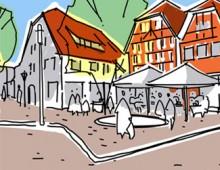 Werkstattverfahren Umgestaltung der Fußgängerzone Warendorf